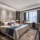 君胜熙珑山C1样板间卧室设计图片