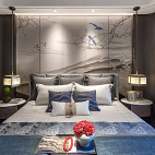 君胜熙珑山C1样板间卧室实景图