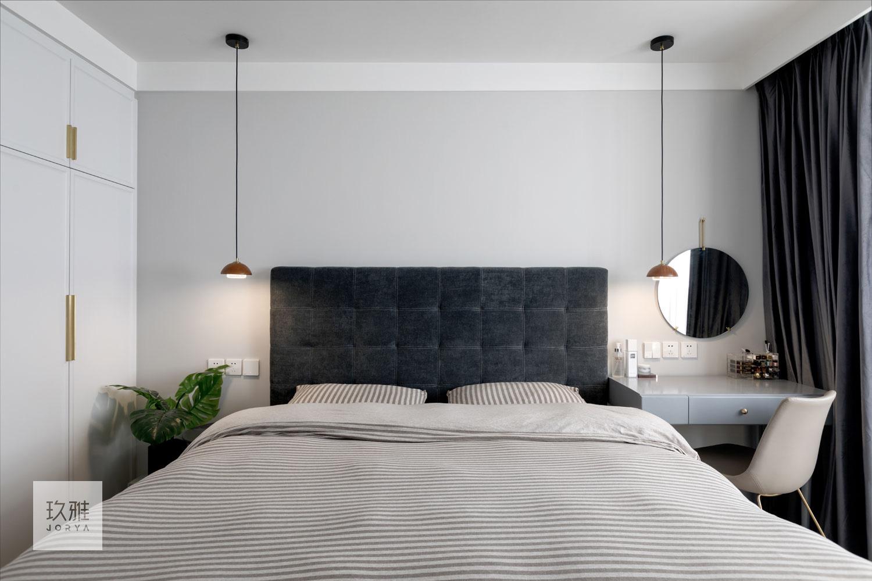 简洁22平北欧小户型卧室实景图片卧室