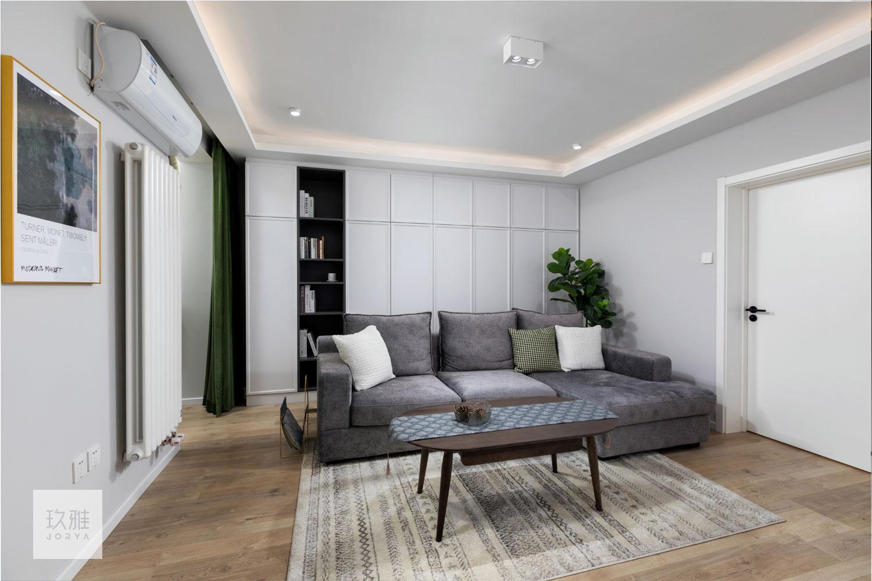 优雅30平北欧小户型客厅装饰图片客厅北欧极简客厅设计图片赏析