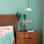 多彩北欧卧室吊灯图片