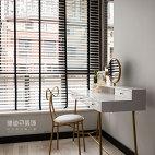 现代简约卧室梳妆台设计