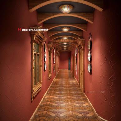 莫斯科主题餐厅设计_3500607