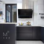 92㎡现代北欧厨房设计图
