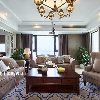 锦绣年华美式客厅设计图