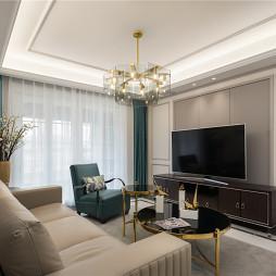 美式轻奢客厅图片