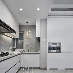 现代轻奢厨房设计图片