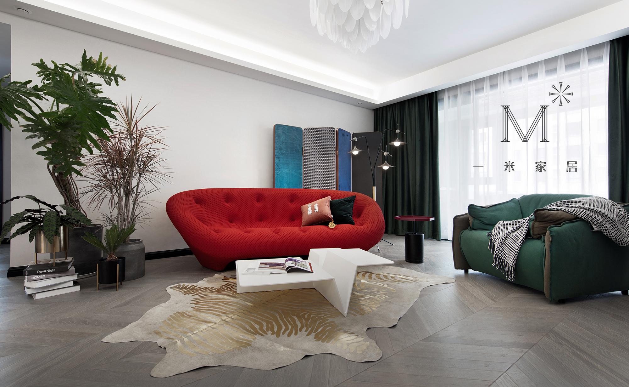 温馨240平现代三居客厅装修效果图客厅现代简约客厅设计图片赏析