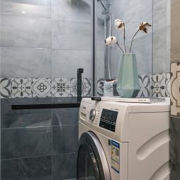 清爽美式卫浴设计实景图