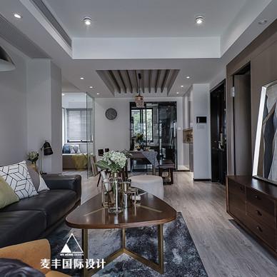 MHOO   万物是凝结的温暖,90㎡现代台式混搭住宅设计_3504681