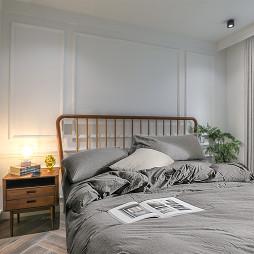 清爽美式主卧室设计图