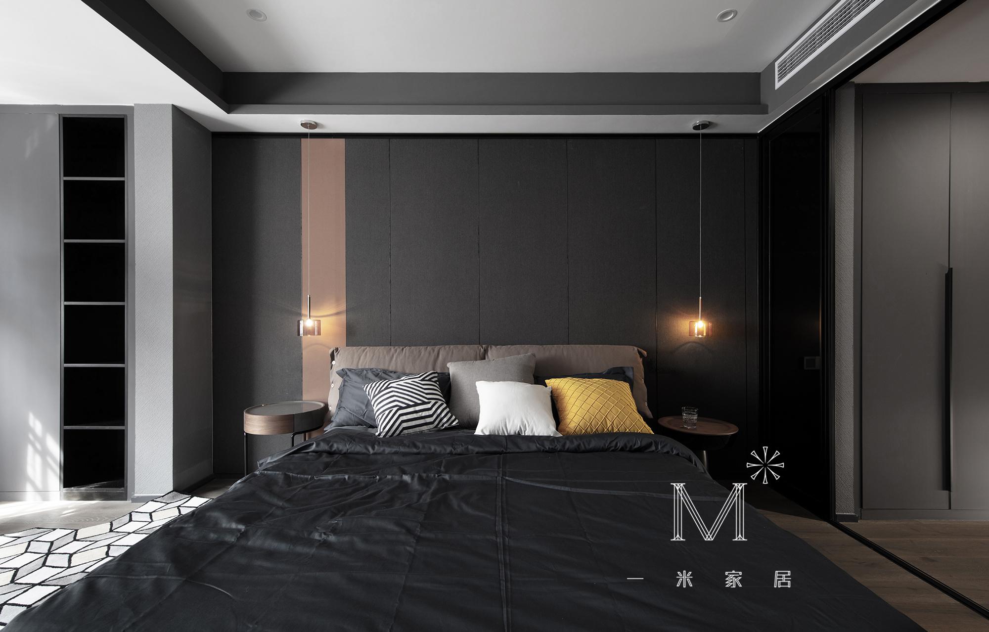 简洁53平现代二居卧室设计美图卧室现代简约卧室设计图片赏析