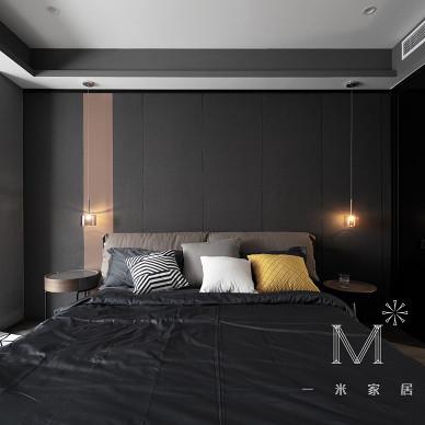 【一米家居】从年代感到时髦感 145㎡现代_3505818