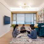 温馨北欧客厅设计图片