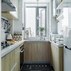温馨北欧厨房设计图