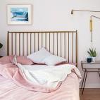 温馨北欧次卧设计图片