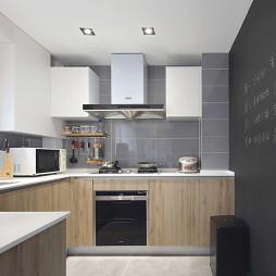 日式三居厨房设计实景图片