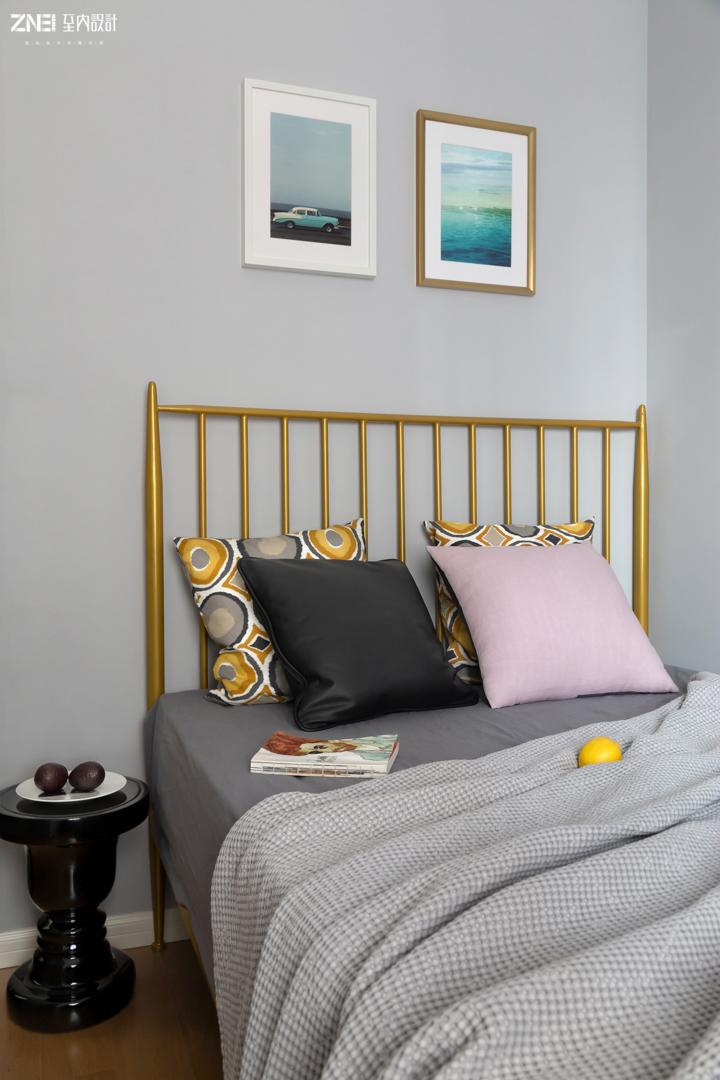 精美88平混搭三居卧室图片欣赏卧室潮流混搭卧室设计图片赏析