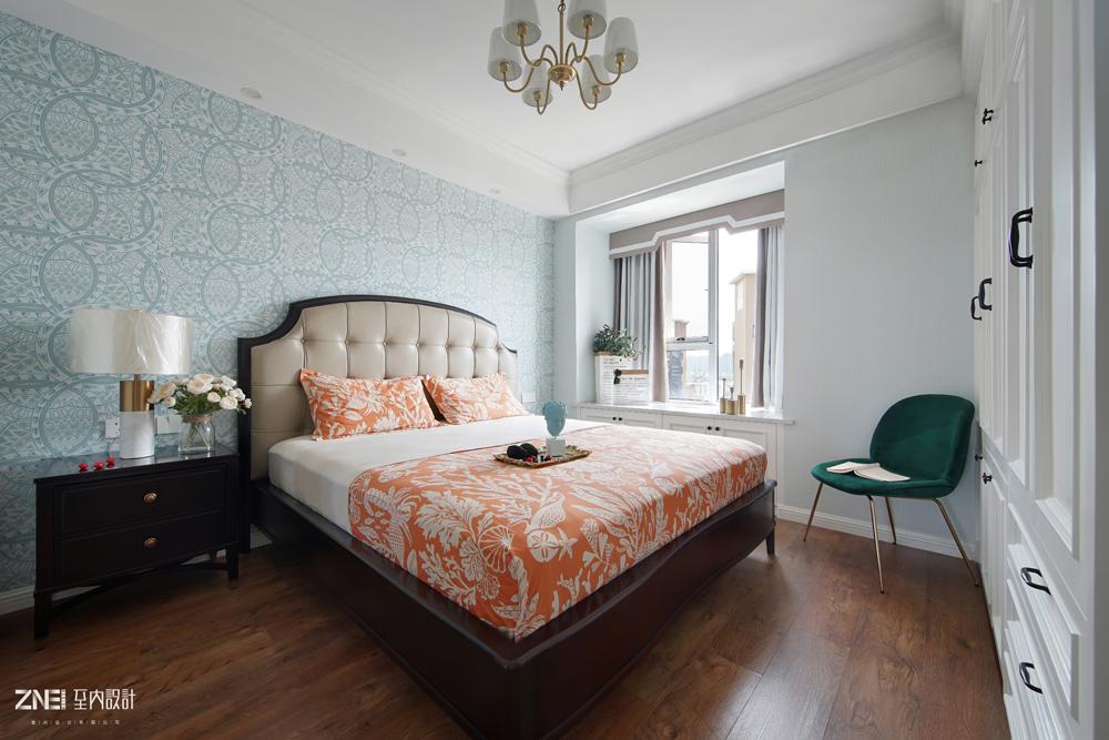 悠雅73平混搭三居卧室装潢图卧室潮流混搭卧室设计图片赏析