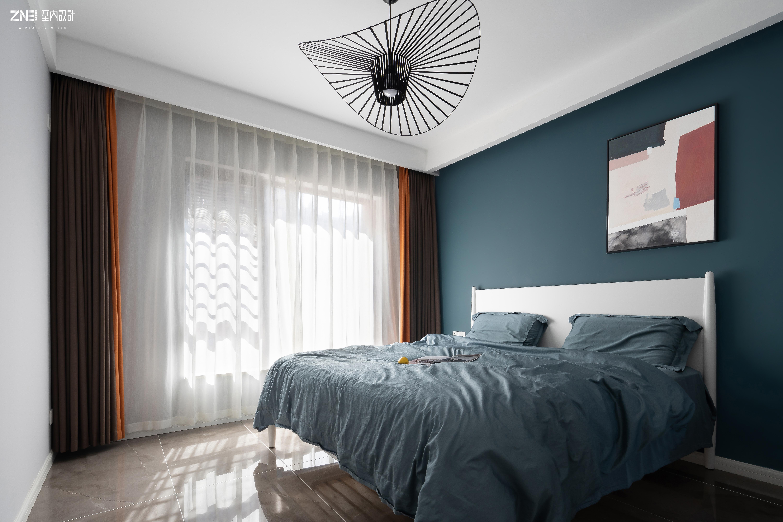 轻奢73平现代三居卧室案例图卧室现代简约卧室设计图片赏析