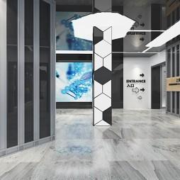 上海(南翔)精准医学产业园科技馆设计_3509242
