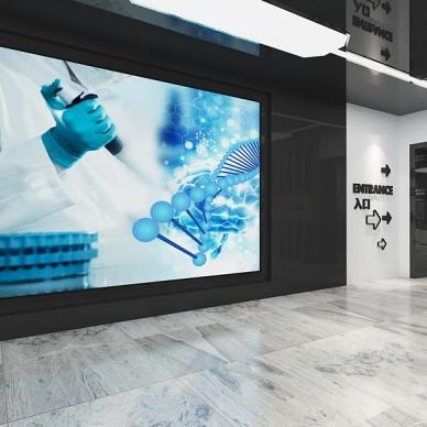 上海(南翔)精准医学产业园科技馆设计_3509243