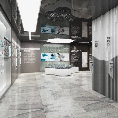 上海(南翔)精准医学产业园科技馆设计_3509244