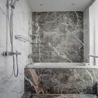 现代卫浴大理石实景图片