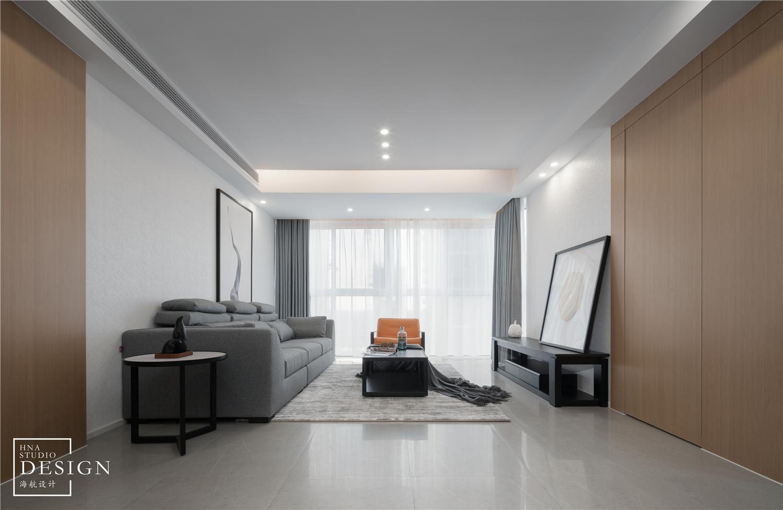 极简空间现代客厅实景图片客厅1图现代简约客厅设计图片赏析
