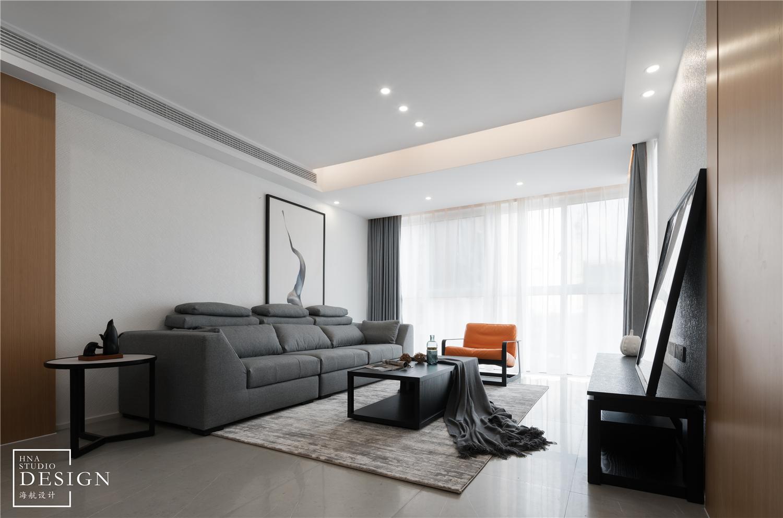 极简空间现代客厅实景客厅2图现代简约客厅设计图片赏析