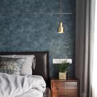 138㎡现代简约卧室吊灯图片