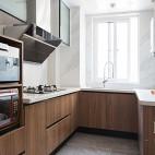 138㎡现代简约厨房图片