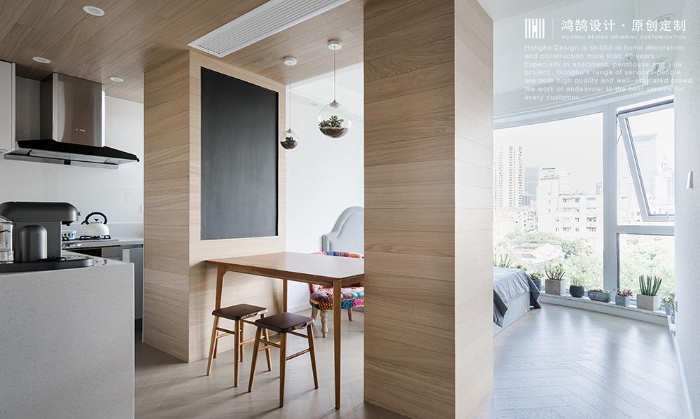 简洁60平日式小户型餐厅装修装饰图日式设计图片赏析