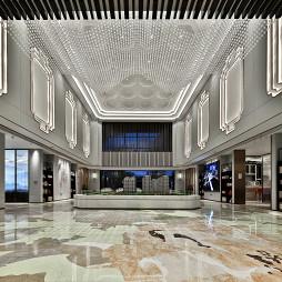 2200m2 学府天成营销中心沙盘区设计