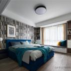 北欧卧室窗台设计图