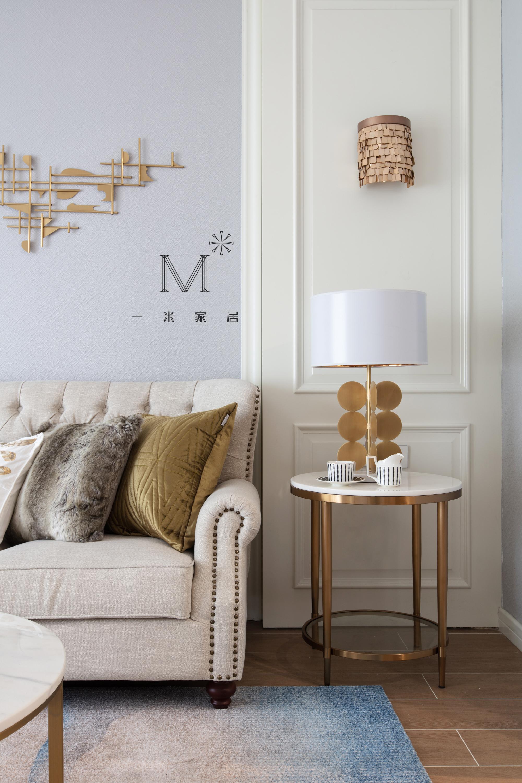 155㎡现代美式客厅床头灯图客厅2图现代简约客厅设计图片赏析