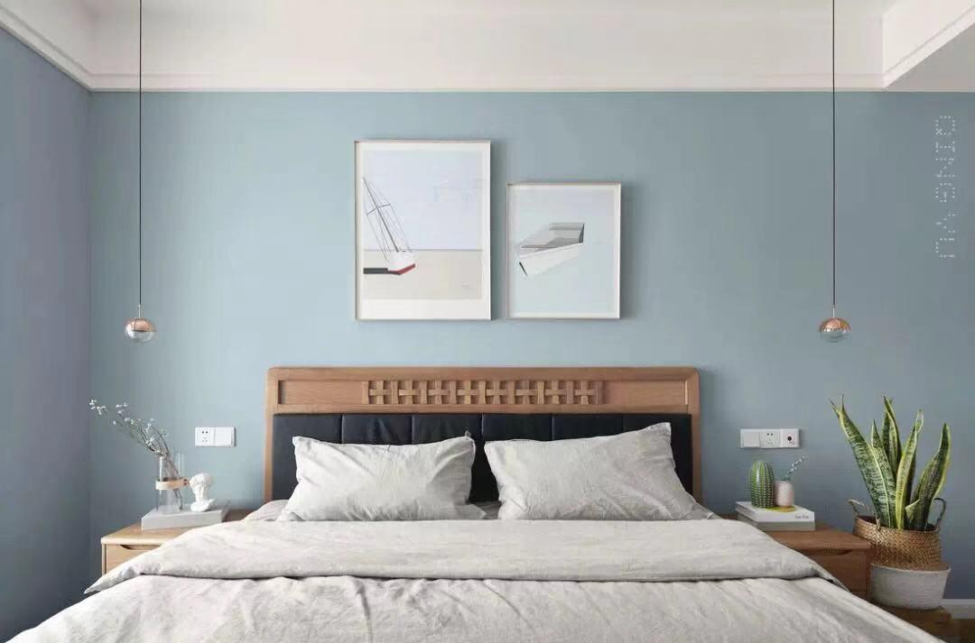温馨88平简约三居卧室装饰图片卧室现代简约卧室设计图片赏析