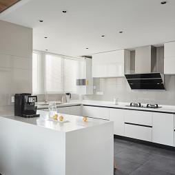 府邸.张宅现代复式厨房图片
