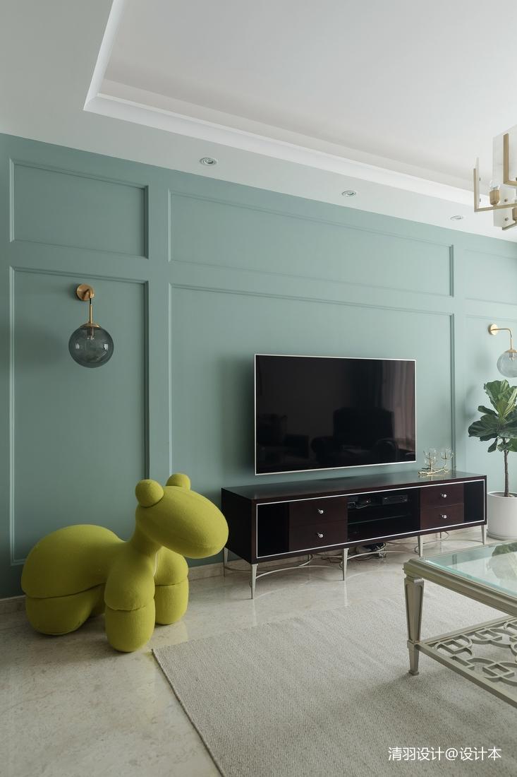 温馨103平简欧三居客厅装修装饰图客厅沙发4图北欧极简客厅设计图片赏析