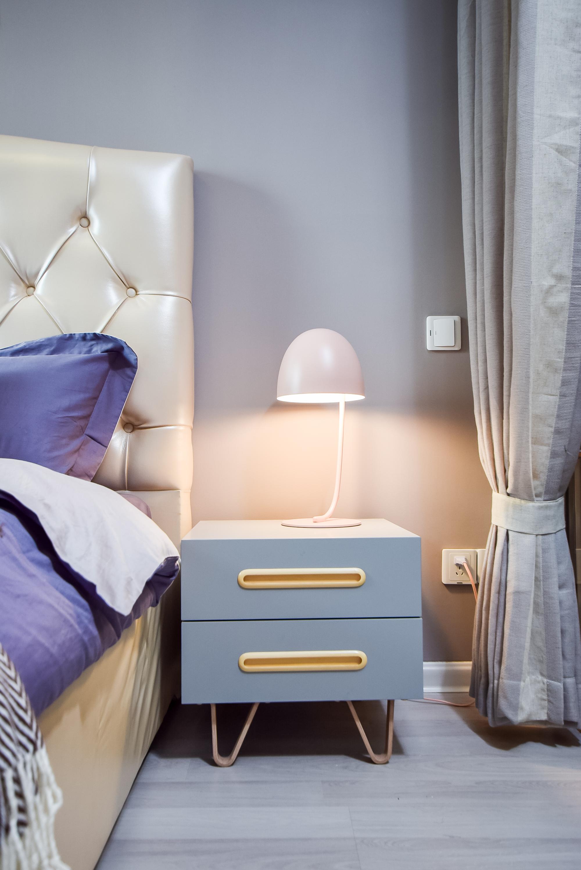 优雅39平现代小户型卧室布置图卧室现代简约卧室设计图片赏析