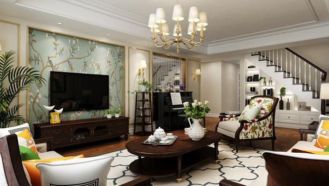 现代美式,让家人爱上回家--北京设计