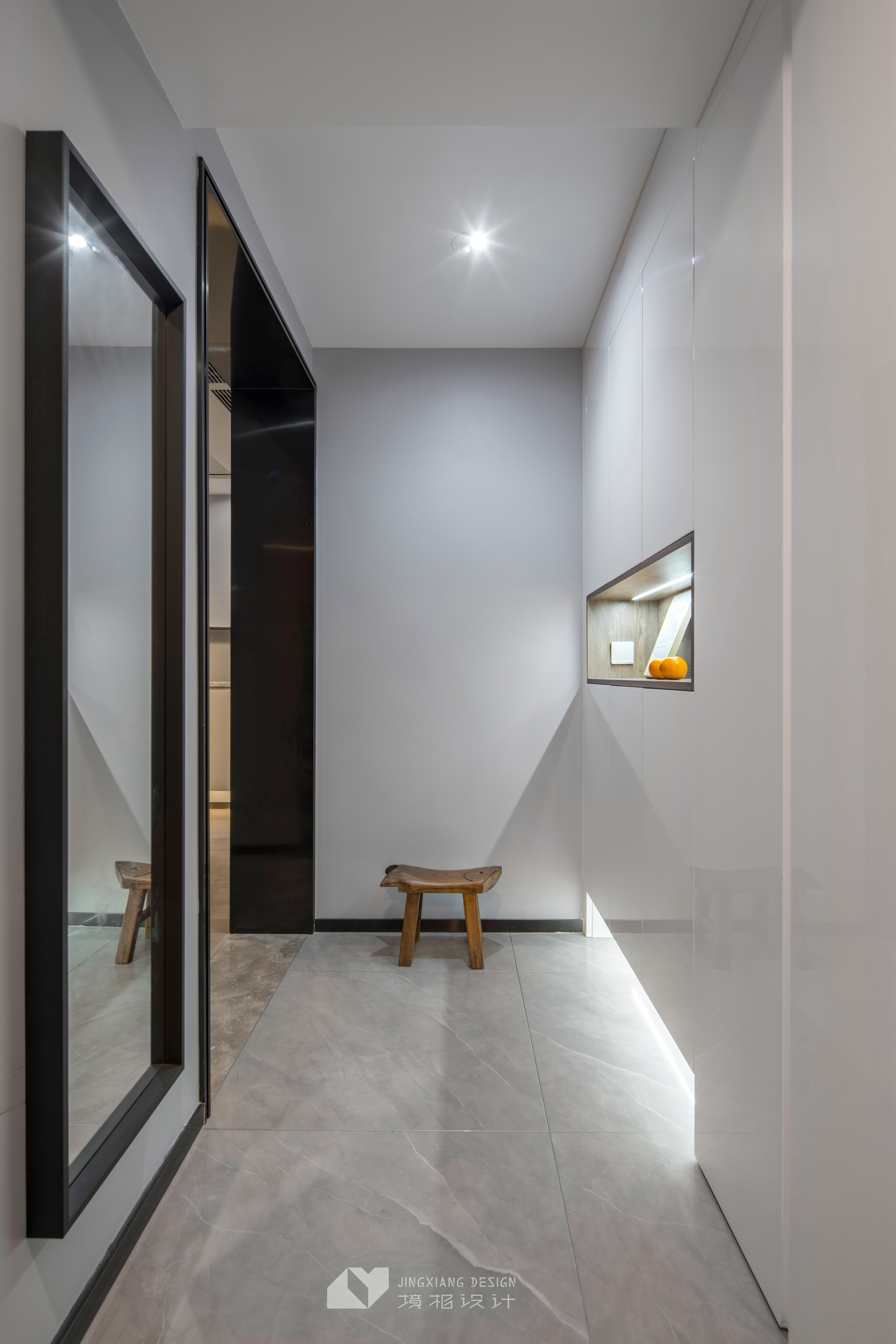 静谧现代玄关设计实景图玄关1图