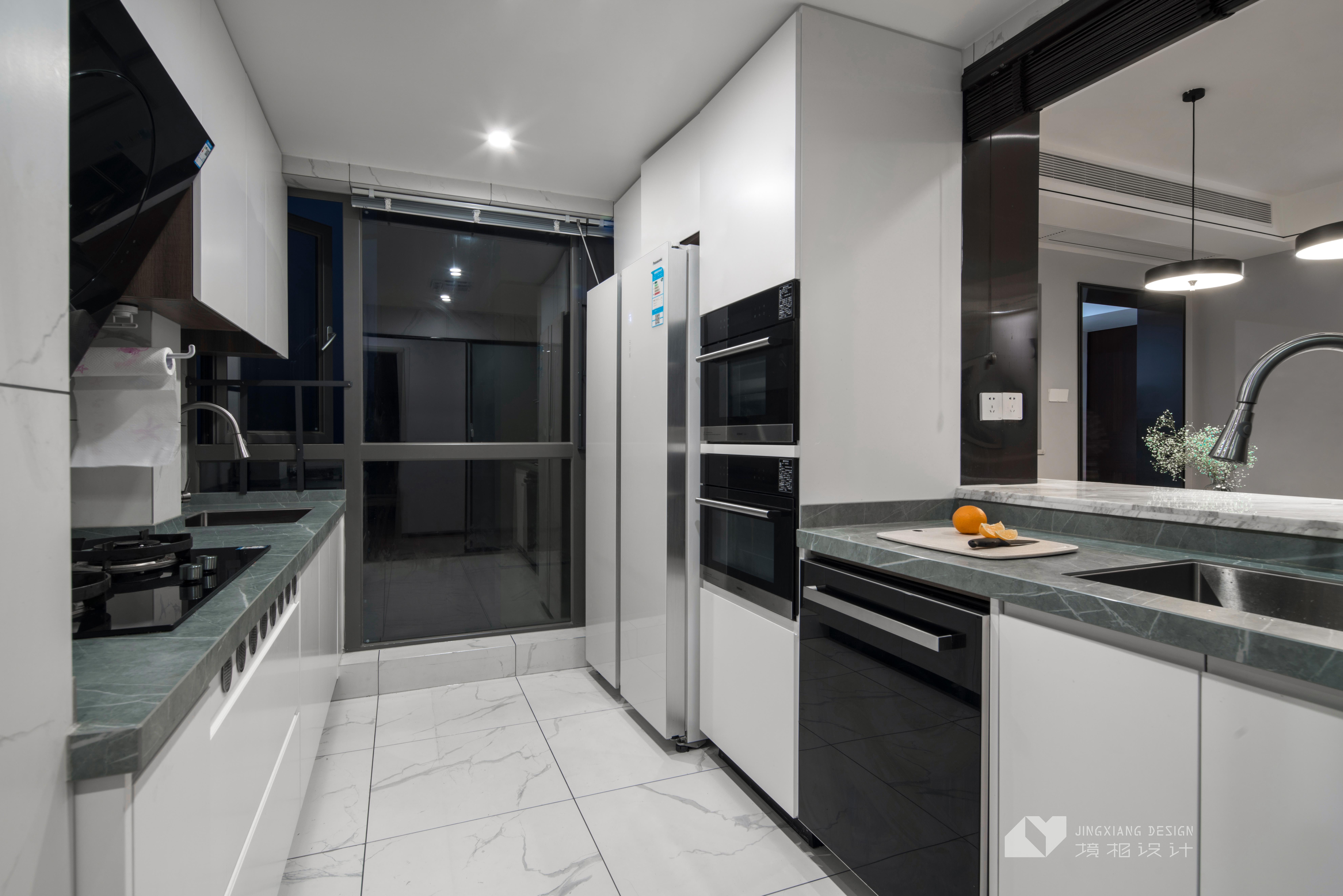 静谧现代厨房设计实景图片餐厅