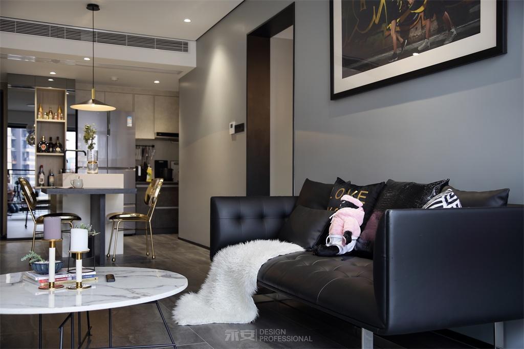 """有一种时髦风格叫做""""性冷淡""""比高级灰更有范客厅现代简约客厅设计图片赏析"""