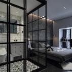 时髦现代卧室实景图片