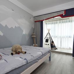 现代二居小户型儿童房设计图
