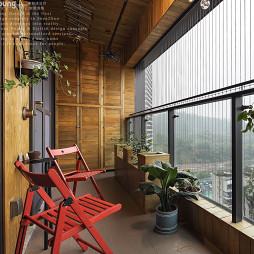 现代工业风阳台设计