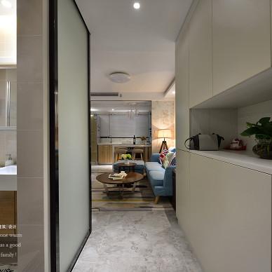 76平loft现代玄关设计图