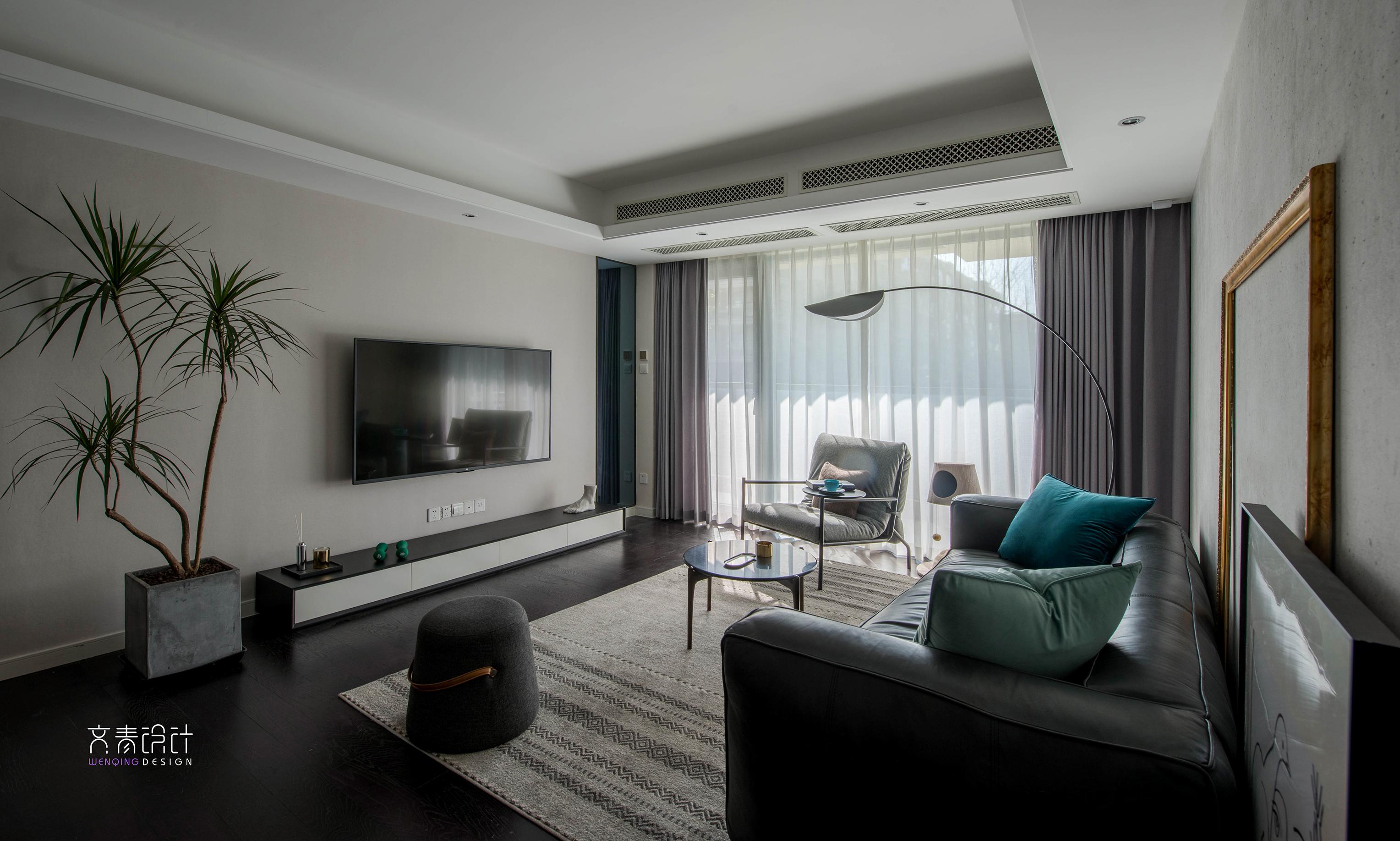 质朴108平混搭四居客厅装饰美图客厅