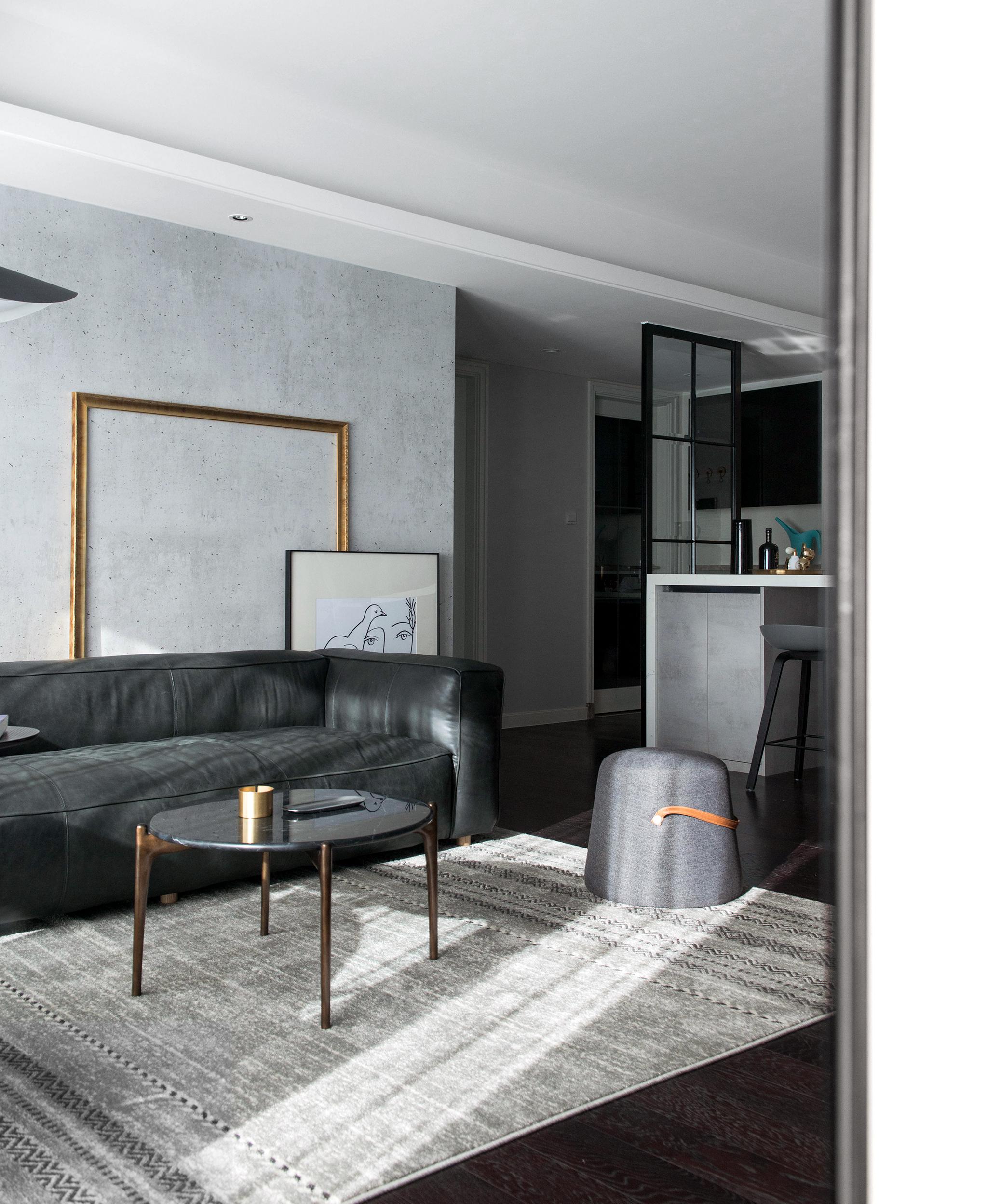 精美99平混搭四居客厅实拍图客厅